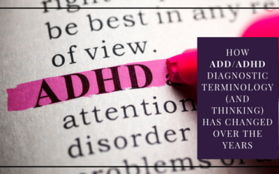 How ADD/ADHD Diagnostic Terminology (and Thinking) Has Changed Over the Years