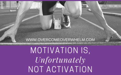 Motivation is, Unfortunately, Not Activation