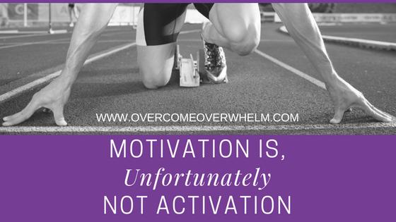Motivation is, Unfortunately, Not Activation