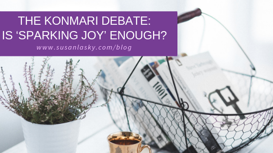 The KonMari Debate: Is 'Sparking Joy' Enough?