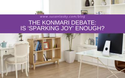 The KonMari Debate: Is 'Sparking Joy' Enough?
